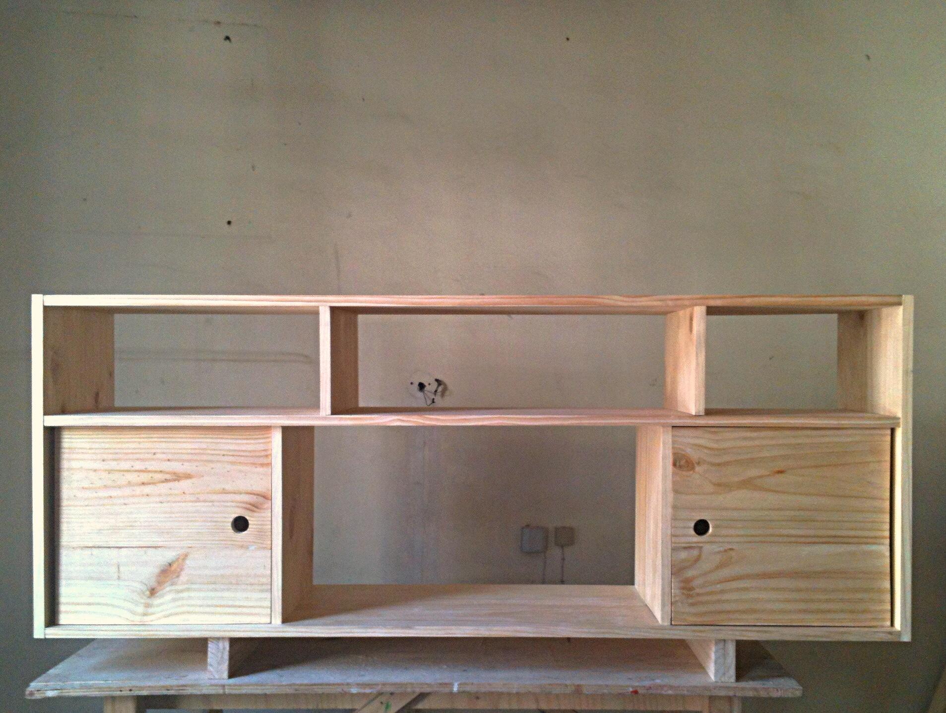 Creado en chile muebles de madera casa esquina de chile - Muebles en madera de pino ...
