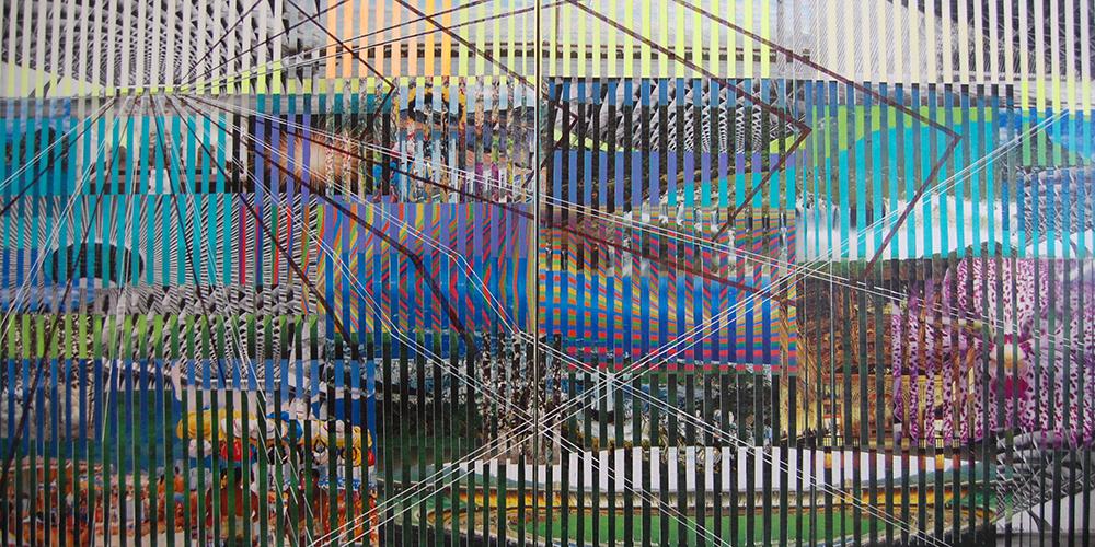 reminisecensia 16, 125 x 250 cms, técnica mixta