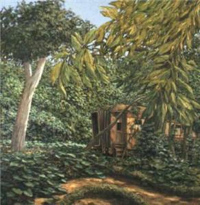 El jardín de Mr Pullman Latinamericanart com