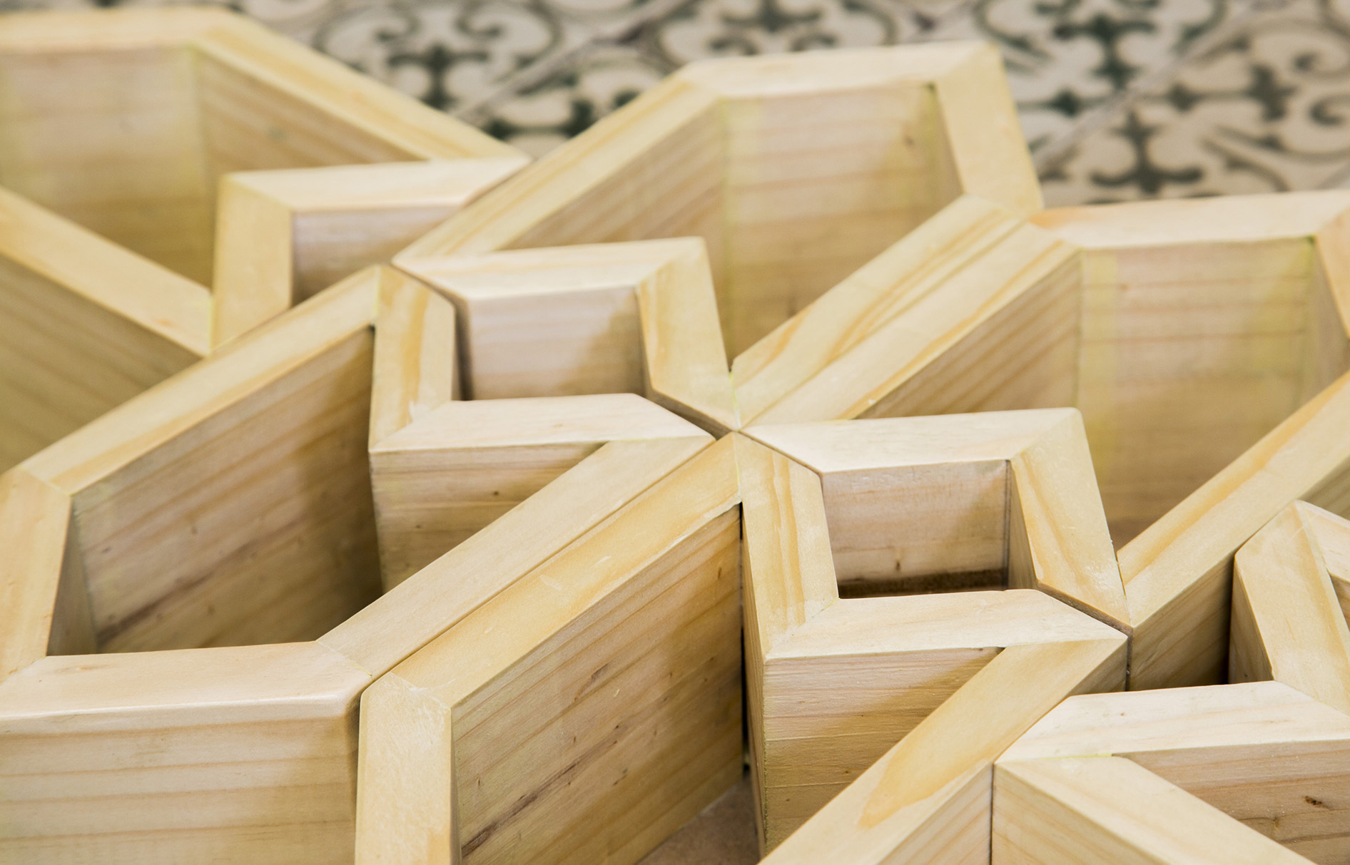 Maceteros de madera originales stunning madera para - Maceteros de madera ...