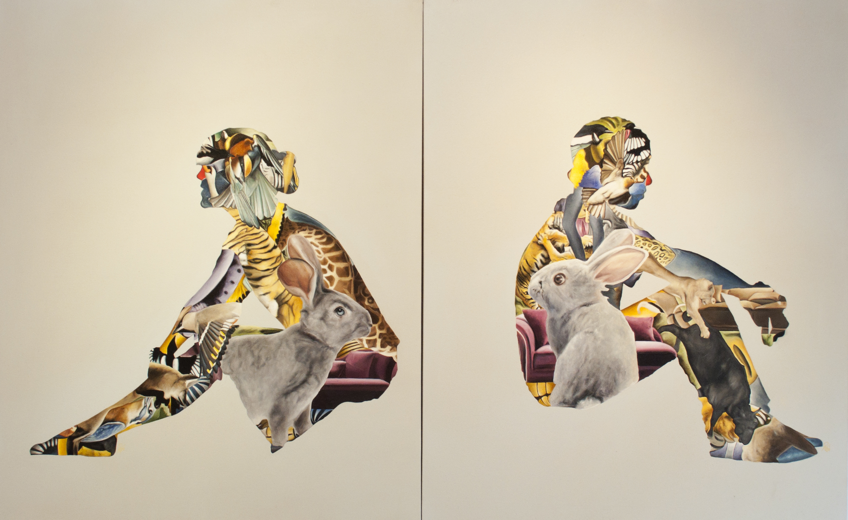 Sin titulo, 110 x 200, óleo sobre tela, 2014