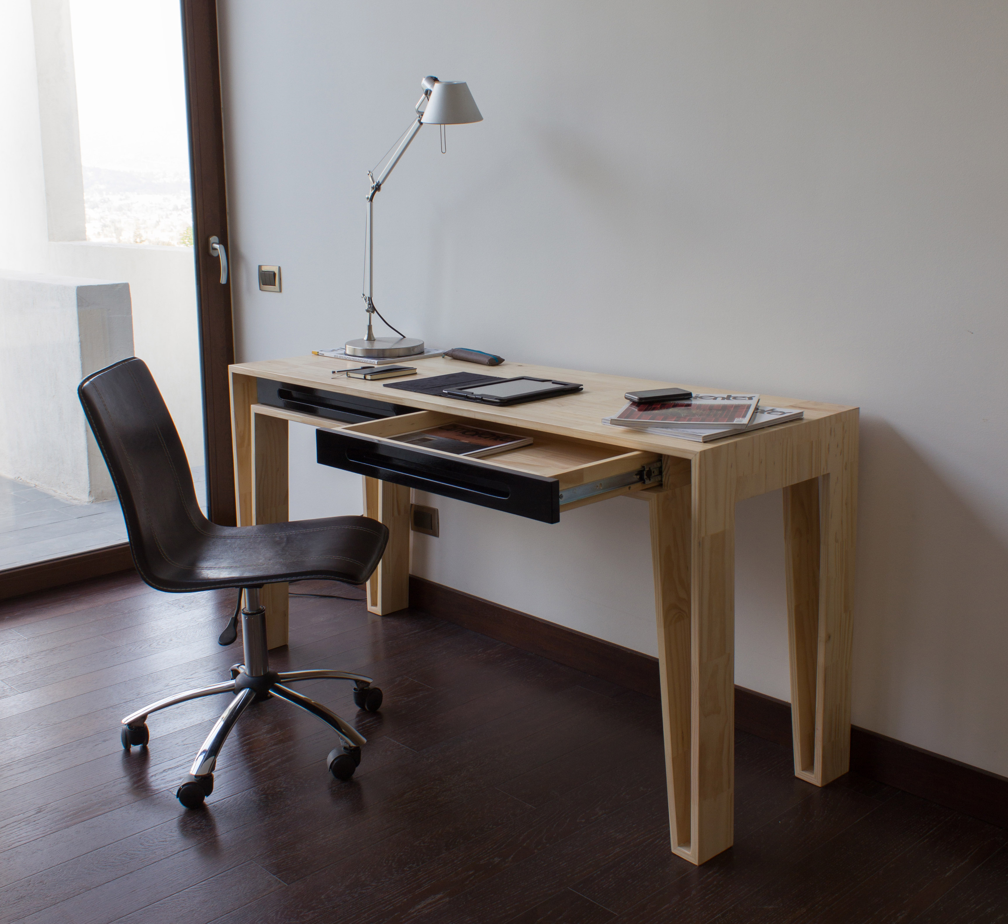 Escritorio e20 y estante es10 1 a 10 muebles creado en for Muebles de oficina chile